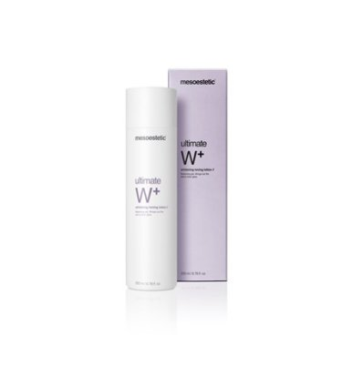 ultimate W+ whitening toning lotion-Mesoestetic
