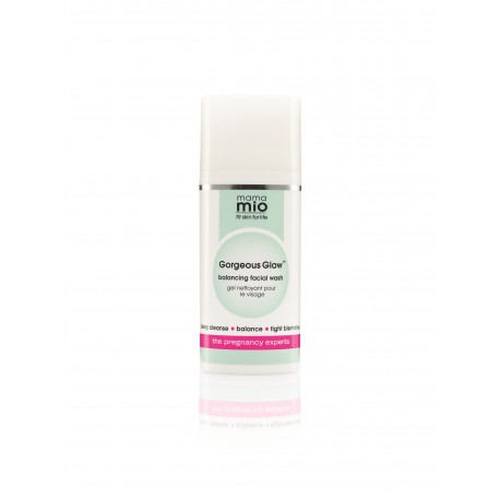 Gorgeous Glow Cleanser Limpiadora facial embarazo MAMA MIO 100 ml
