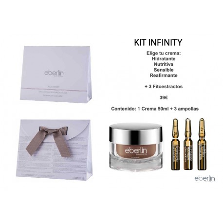 Cofre Infinity Crema Biológica Reafirmante F con Fitoextractos - Eberlin